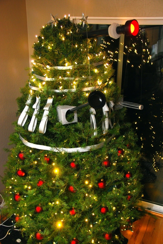 Doctor Who and the Dalek Christmas Tree… | Beta Nerd